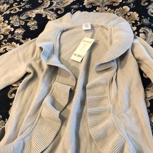 Girls grey cardigan/wrap